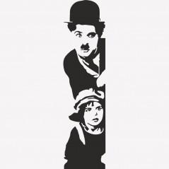 Adesivi Murali Charlie Chaplin.Charlie Chaplin Il Monello