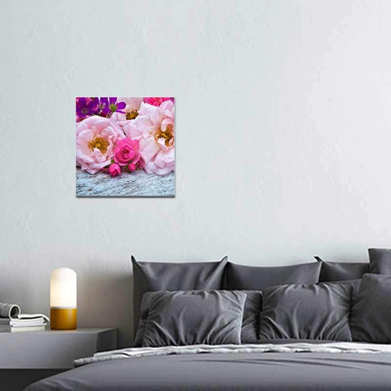 Fiori rosa, Tela Canvas