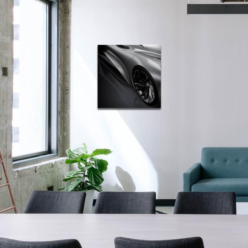Auto Silver, Tela Canvas
