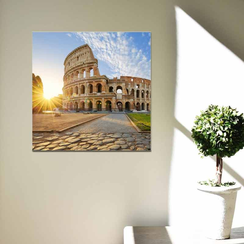 Colosseo Roma, Tela Canvas