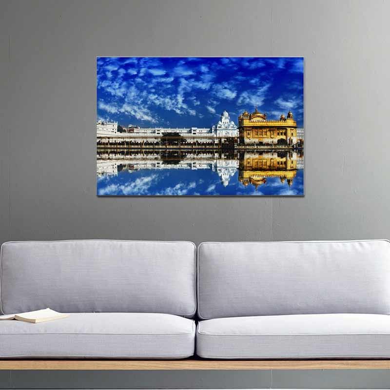 Tempio d'Oro, Tela Canvas