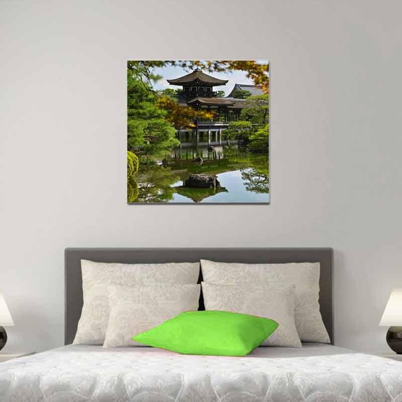Pagoda Giappone, Tela Canvas