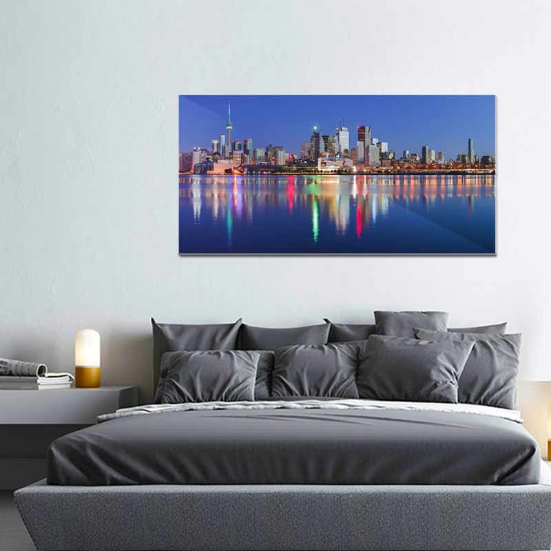 Toronto Skyline, Tela Canvas