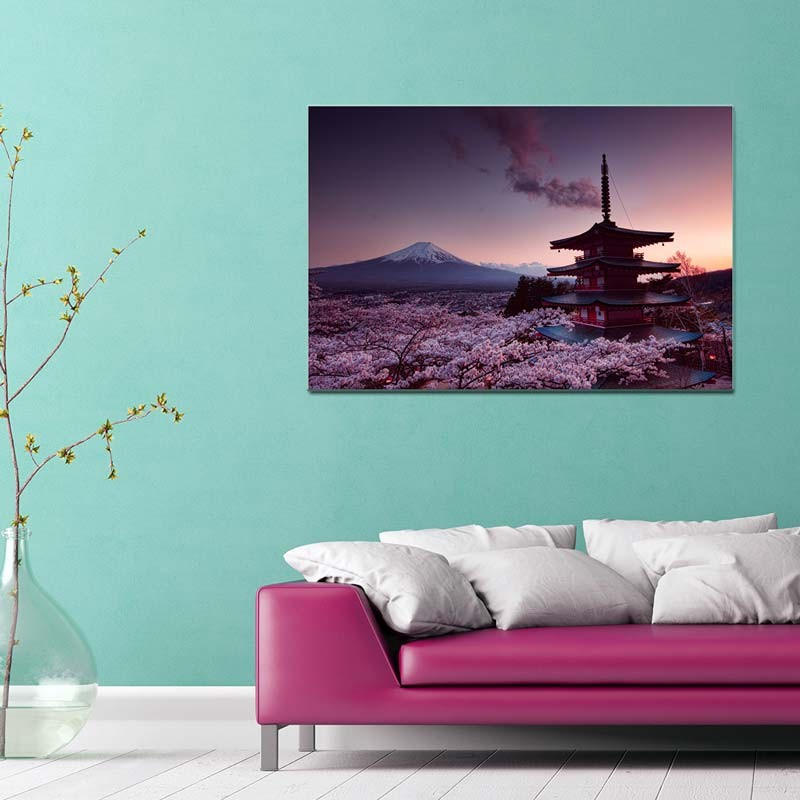 Monte Fuji, Tela Canvas