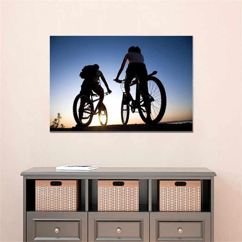 Ciclismo, Tela Canvas