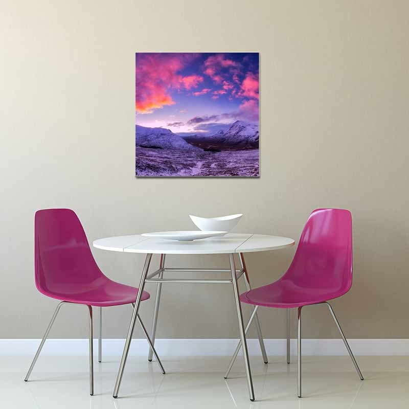 Cielo Rosa, Tela Canvas