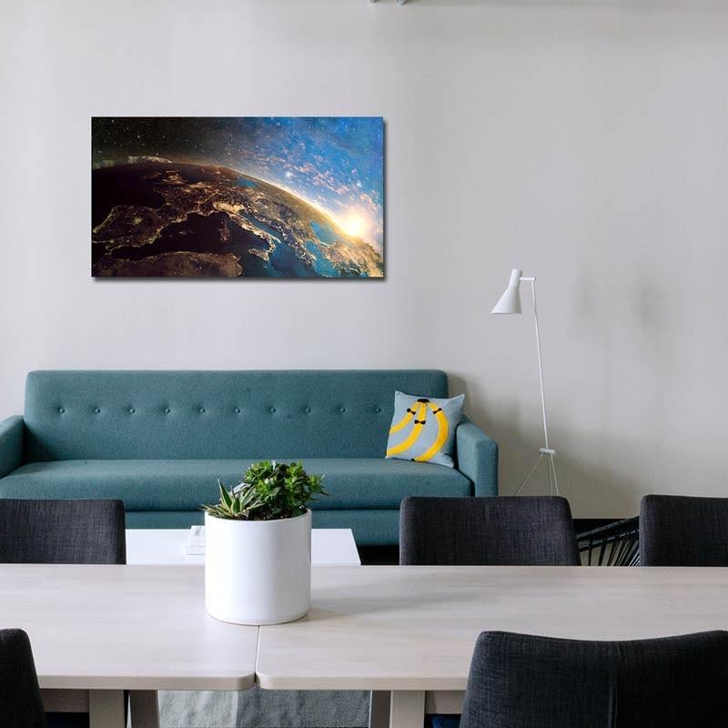 Pianeta Terra, Tela Canvas