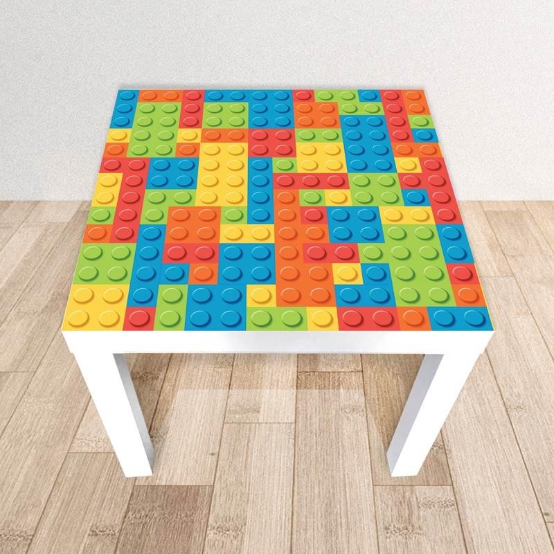 Bricks, Adesivo tavolino