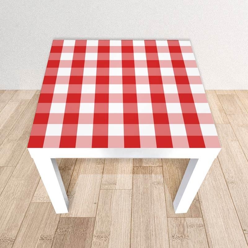 Tartan, Adesivo tavolino