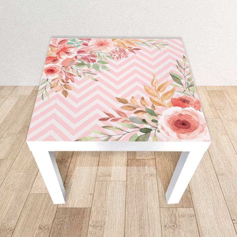 Pink Peach, Adesivo tavolino