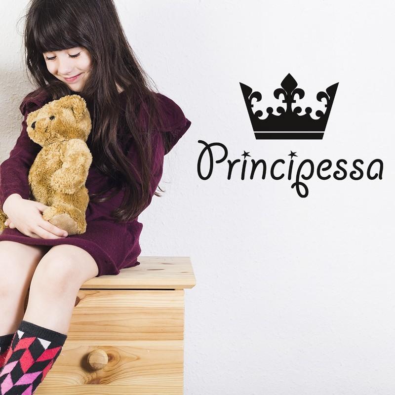 Principessa con corona